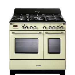 Kenwood CK425 CR 90 cm Dual Fuel Range Cooker Cream Reviews
