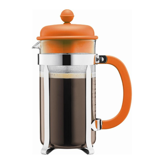 Bodum Caffettiera 1918-116 Coffee Maker - Orange