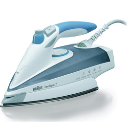 Braun TexStyle 7 TS755 Steam Iron - Grey & Lilac Reviews
