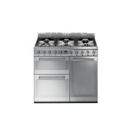 SMEG SY93 Symphony Triple Cavity 90cm Dual Fuel Range Cooker Stainless Steel Reviews