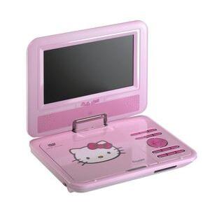 Photo of INGO HELLO KITTY Portable DVD Player