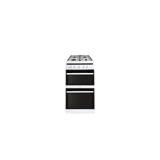 Amica 508TGG2W 508TGG2W 4 Burner Twin cavity Gas Cooker