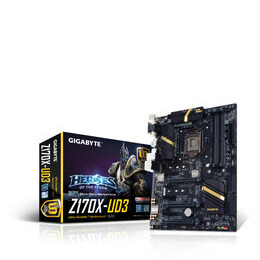 Gigabyte GA-Z170X-UD3 Socket LGA1151 HDMI 7.1 Channel Audio ATX Motherboard Reviews