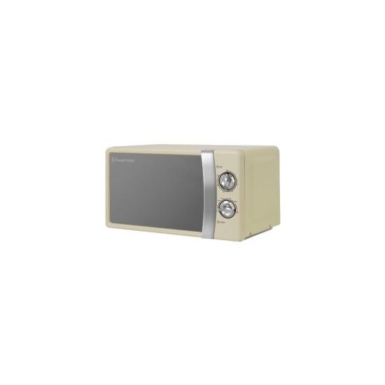 Russell Hobbs RHMM701C 17 Litre Cream Manual Microwave