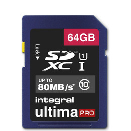 UltimaPro Class 10 SDHC Memory Card - 64 GB Reviews