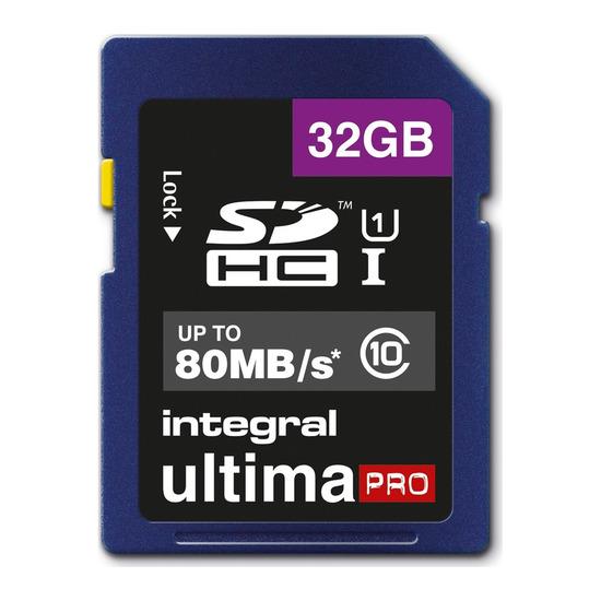 UltimaPro Class 10 SDHC Memory Card - 32 GB