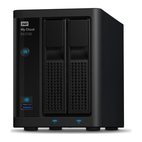 My Cloud EX2100 NAS Drive - 2 Bay