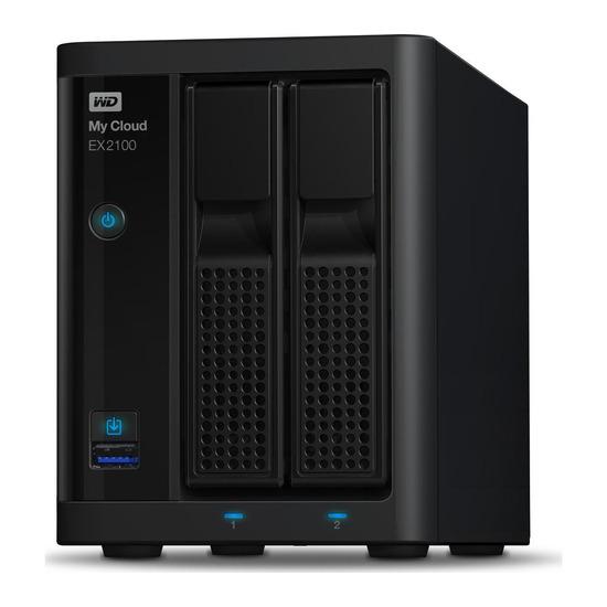 My Cloud EX2100 NAS Drive - 2 Bay