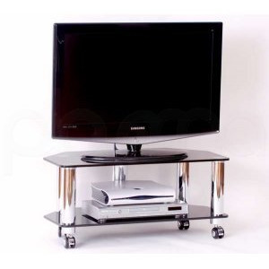 Photo of Optimum Fusion LCD 8002SLB Slimline TV Stand TV Stands and Mount