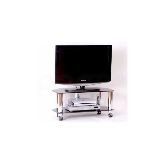 Optimum Fusion LCD 8002SLB Slimline TV Stand