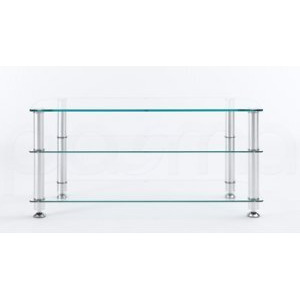 Photo of Stil Stand 1401CHCL Glass LCD Stand TV Stands and Mount