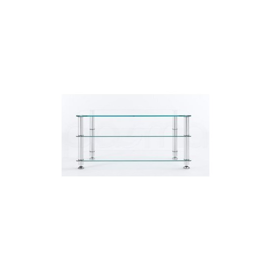 Stil Stand 1401CHCL Glass LCD stand