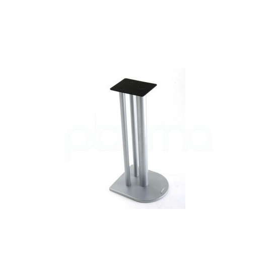 Atacama Speaker Stand in Silver - Height 60cm