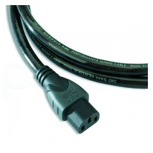 Photo of QED 1.5M Qonduit Mains Power Cable Adaptors and Cable
