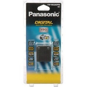 Photo of Panasonic VW-VBG260 Camera and Camcorder Battery