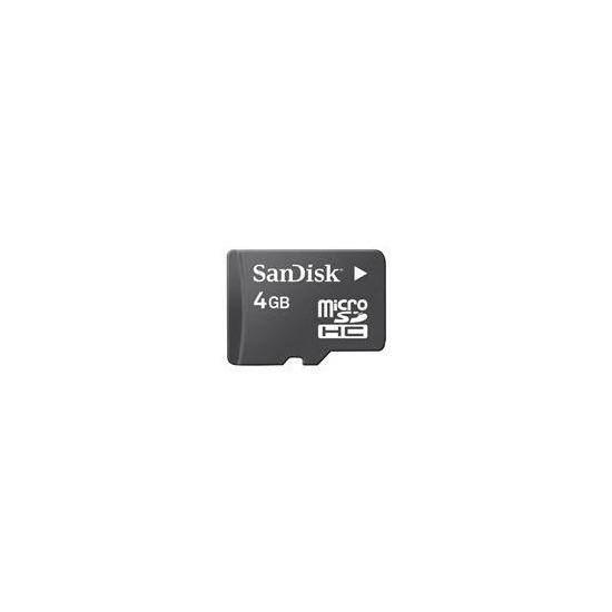 SanDisk microSDHC 4GB