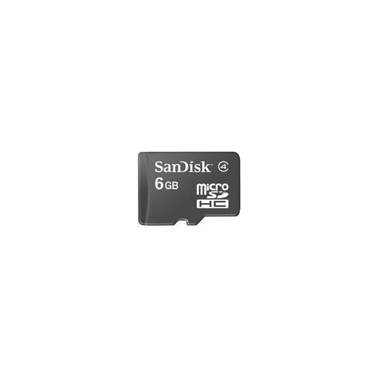 microSDHC 6GB Memory Card