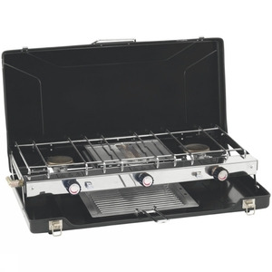 Photo of Appetizer Cooker 3-Burner Stove With Grill Cooker
