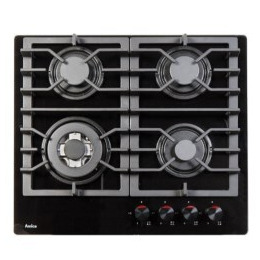 Amica PHCZ6511 4 Burner Gas On Glass - Black Reviews