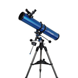 Polaris 114 EQ Reflector Telescope - Blue Reviews