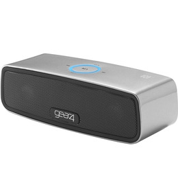 House Party Mini Portable Wireless Speaker - Silver Reviews