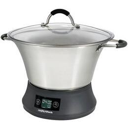 Morphy Richards Accents 48738 Slow Cooker 3.5 Litres Black
