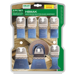 Smart H8MAK Multi Tool Blade Set of 8 with Quick Release Reviews