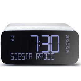 PURE Siesta Rise VL-62853 DAB+/FM Clock Radio - White & Grey Reviews