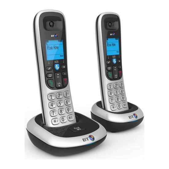 BT 2100 Cordless Phone - Twin Handsets