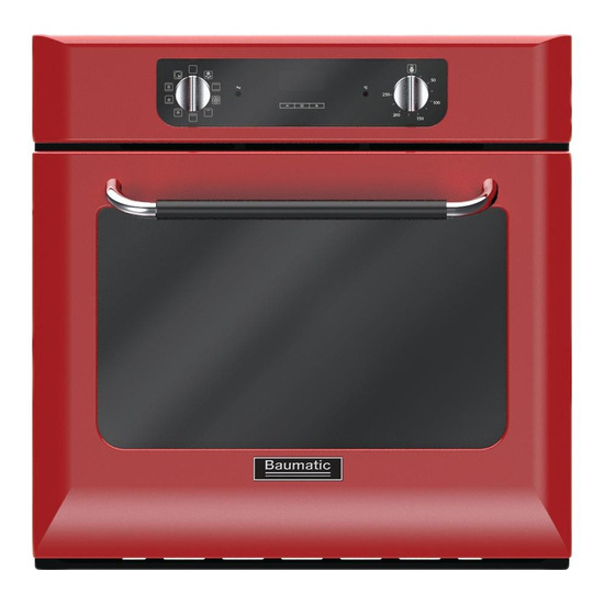 RETRO BOR600RD Electric Oven Red