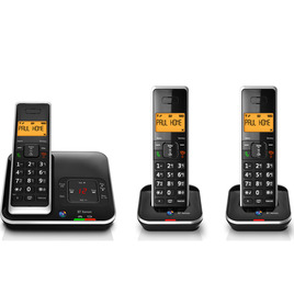 Xenon 1500 Cordless Phone with Answering Machine - Triple Handsets Reviews