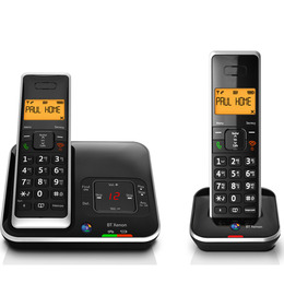 Xenon 1500 Cordless Phone with Answering Machine - Twin Handsets Reviews