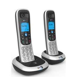 BT 2100 Cordless Phone - Twin Handsets