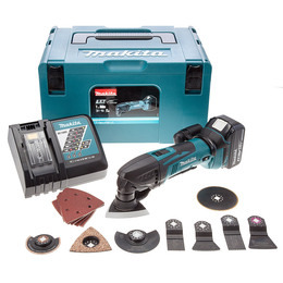 Makita DTM50RM1J3 18V Li-Ion Cordless Oscillating Multicutter (1 x 4Ah Battery) Reviews