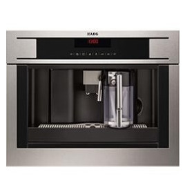 AEG PE4571-M Coffee Machine in Stainless steel with Reviews