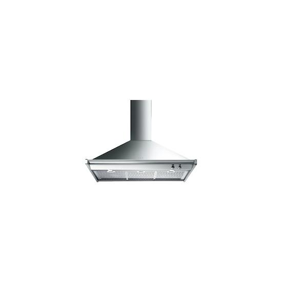 Smeg KD100XE Stainless steel 1000mm chimney hood