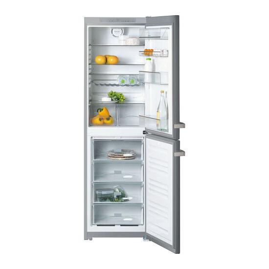 Miele KFN12924SD-1 Fridge Freezer - Clean Steel