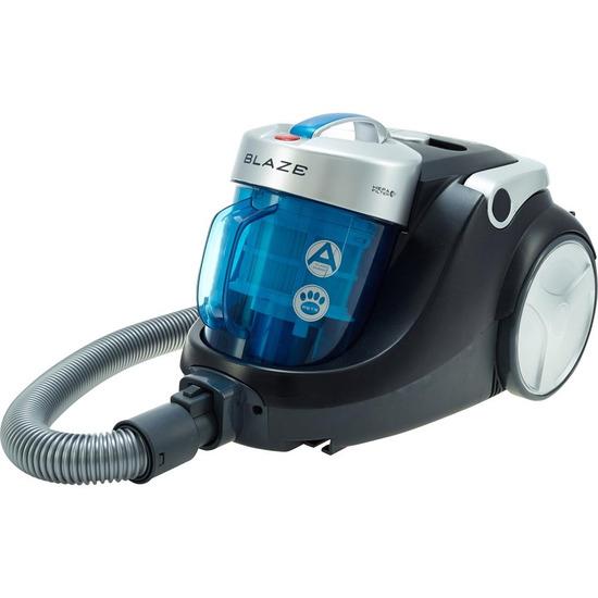Hoover Blaze SP81 BL11001 Cylinder Bagless Vacuum Cleaner - Black Blue & Silver