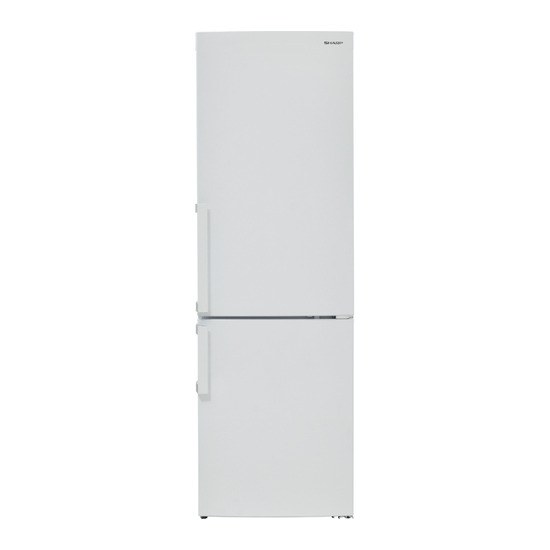 Sharp SJ-B1297M1W-EN Fridge Freezer - White