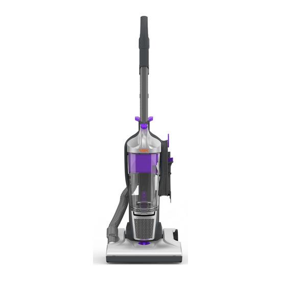 Vax Power Reach U84-M1-Re Upright Bagless Vacuum Cleaner - Grey Black & Purple