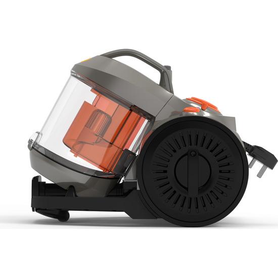 Vax Power 4 Base C85-P4-Be Cylinder Bagless Vacuum Cleaner - Graphite Orange & Black