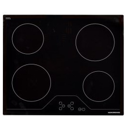 NordMende HCT62FL 60cm Ceramic Hob Touch Front Edge Bevelled Only Reviews