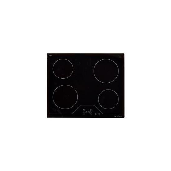 NordMende HCT62FL 60cm Ceramic Hob Touch Front Edge Bevelled Only