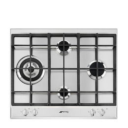SMEG P261XGH Stainless steel 4 burner gas hob Reviews