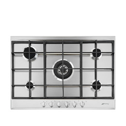 SMEG P272XGH Stainless steel 5 burner gas hob Reviews