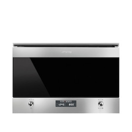 SMEG MP6322X Stainless steel Compact microwave with grill Reviews