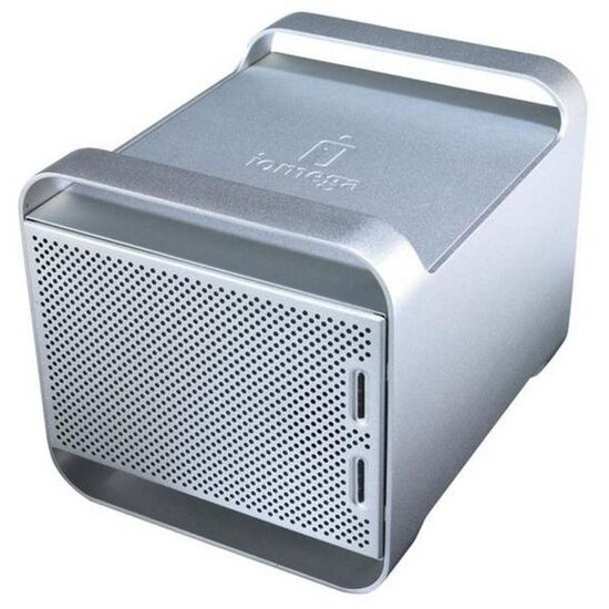 Iomega UltraMax Pro Desktop Hard Drive - Hard drive array - 1.5 TB - 2 bays - 2 x HD 750 GB - Hi-Speed USB, Serial ATA-300 (external)