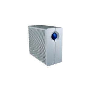 Photo of LaCie 2BIG Triple - Hard Drive Array - 1 TB - 2 Bays - 2 X HD 500 GB - FireWire 800, Hi-Speed USB, FireWire 400 (External) External Hard Drive