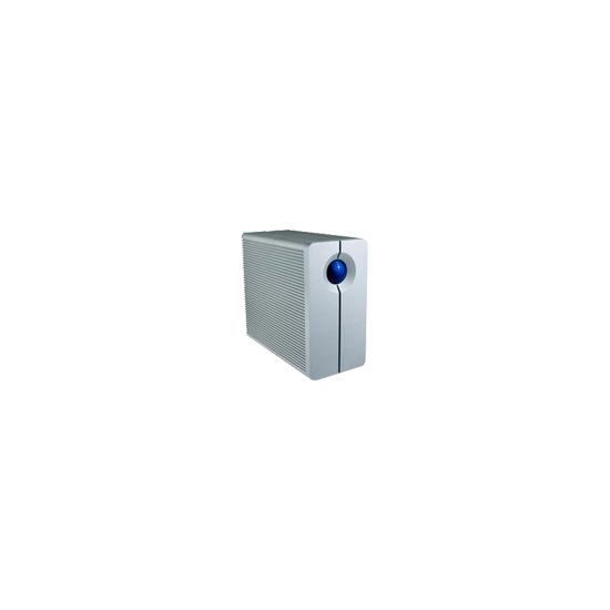 LaCie 2big Triple - Hard drive array - 1 TB - 2 bays - 2 x HD 500 GB - FireWire 800, Hi-Speed USB, FireWire 400 (external)