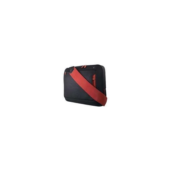 """Belkin Messenger Bag for notebooks up to 15.4'"""" - Notebook carrying case - jet, cabernet"""